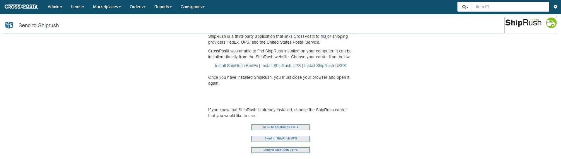 ShipRush 3